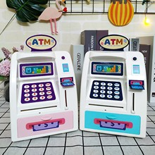 Toy Banking-Toy Savings-Bank Money Atm Baby Kids Children Cash Personal Early-Education