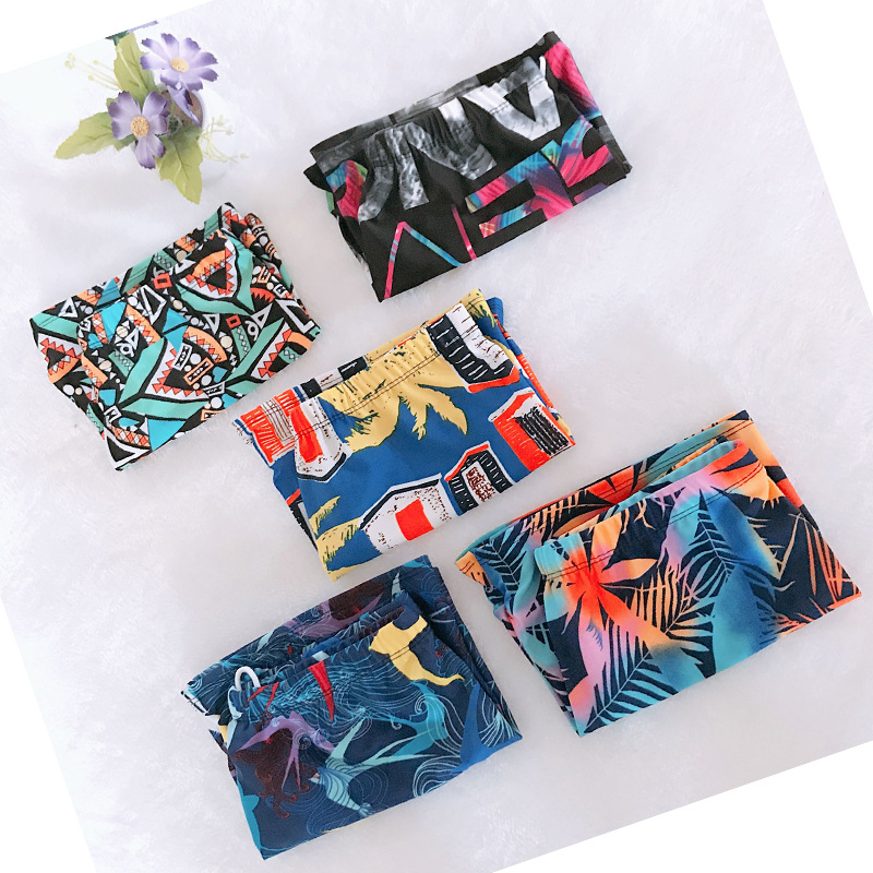 2018 Hot Sales CHILDREN'S Swimming Trunks Printed Outdoor Baby Boys' Swimming Shorts Students Swimming Trunks