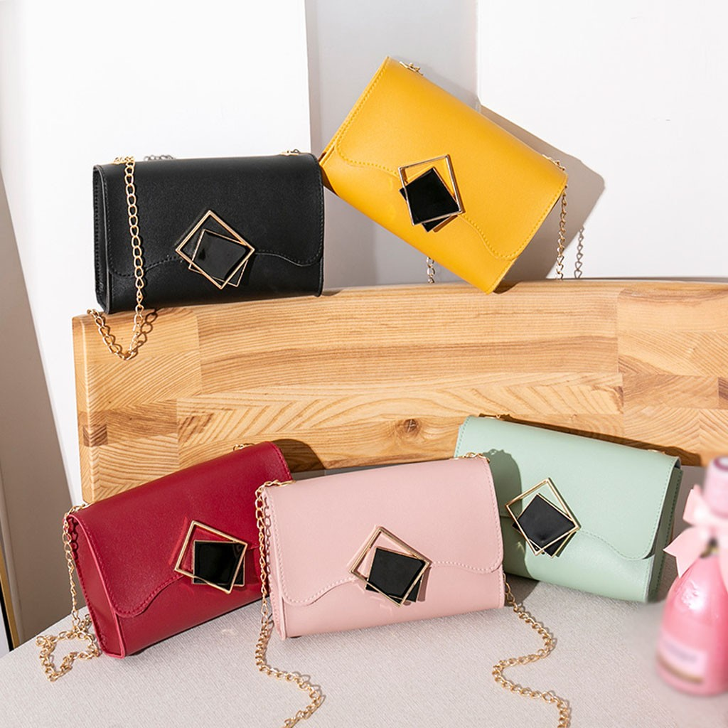Carved Small Crossbody Bags For Women 2019 Mini PU Leather Shoulder Messenger Bag For Girl Yellow Bolsas Ladies Phone Purse #T1P