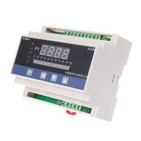 4 20mA DC Water Liquid Level Pressure Controller with 4 ways Relay DC24V Output