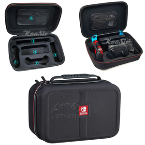 Image 2 - Nintendo switch ns kit de acessórios de console, bolsa de armazenamento para console, alça de controle, caixa de silicone para jogos de nintendo switch