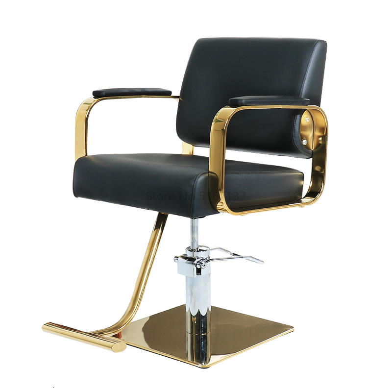 Barber Shop Chair Hair Salon Special Hairdressing Chair Handle Chair Haircut Chair Salon Chair Can Be Raised And Lowered
