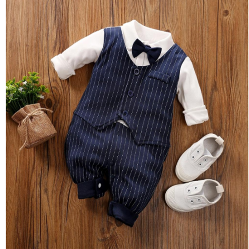 Jumpsuits Clothing Suits Cotton Children Baby Boys Newborn Rompers Fits True To Size, Take Your Normal Full Unisex