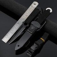 Нож с фиксированным лезвием, охотничьи ножи из нержавеющей стали, походный ручной инструмент, нож для выживания при дайвинге
