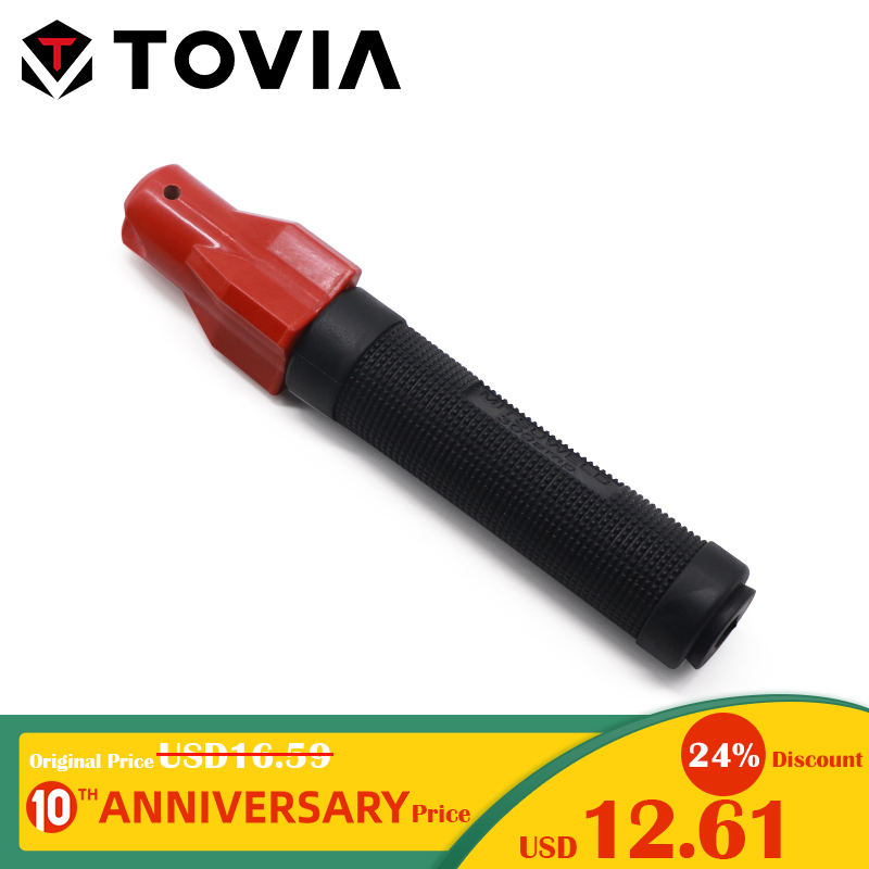 TOVIA 300A Screw Weld Holders Professional Electrode Holder 1.0-4.0mm Weld Clamp Pure Copper Core Safe Weld Holders