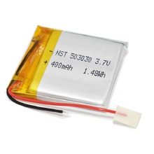 3,7 в 450 мАч 503030 литий-полимерный аккумулятор для MP3 MP4 GPS DVR игрушка Смарт-часы, со светодиодом светильник Bluetooth наушники перезаряжаемый клетки
