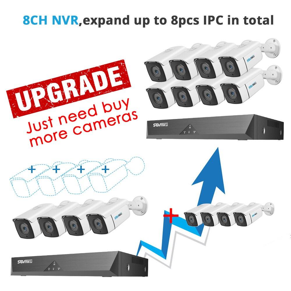 ±Closeout DealsSystem Video-Surveillance-Set Ip-Camera CCTV Outdoor Audio-Record H.265 8CH WaterproofÄ