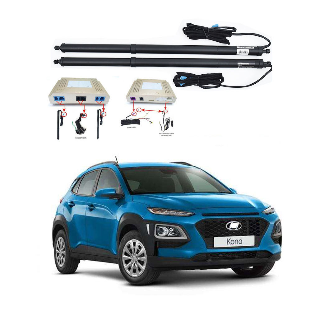 New Electric Tailgate Refitted For Hyundai KONA 2019 2020 Tail Box Intelligent Electric Tail Door Power Tailgate Lift Lock