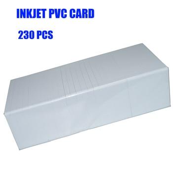 230pcs Inkjet PVC Card ID Card printable For Epson R290 R330 R390 L800 L801 L805 P50 T60  R330  Px700w Px800FW Px665 px660 waste ink tank pad sponge for epson r280 r290 t50 t60 a50 l800 l801 r330 r390 p50 p60 rx600 rx610 rx690 px650 r285 r295 rx615