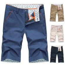 TJWLKJ Summer shorts men casual cargo Hip hop Solid color fashion male streetwear