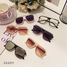 Sunglass Sunshade Girls Boys Children's New-Fashion for Trend And