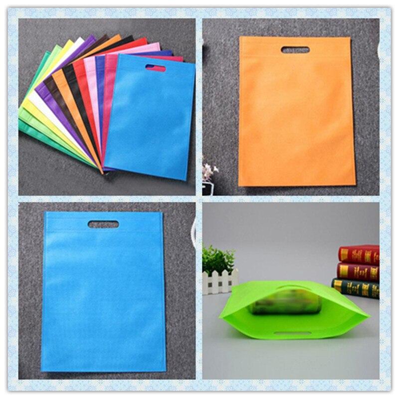 30*40/35*45cm Shopping Bag Non-Woven Fabric Reusable Shopping Bag Foldable Eco Bag Grocery Bag For Promotion/Gift/shoes/Chrismas