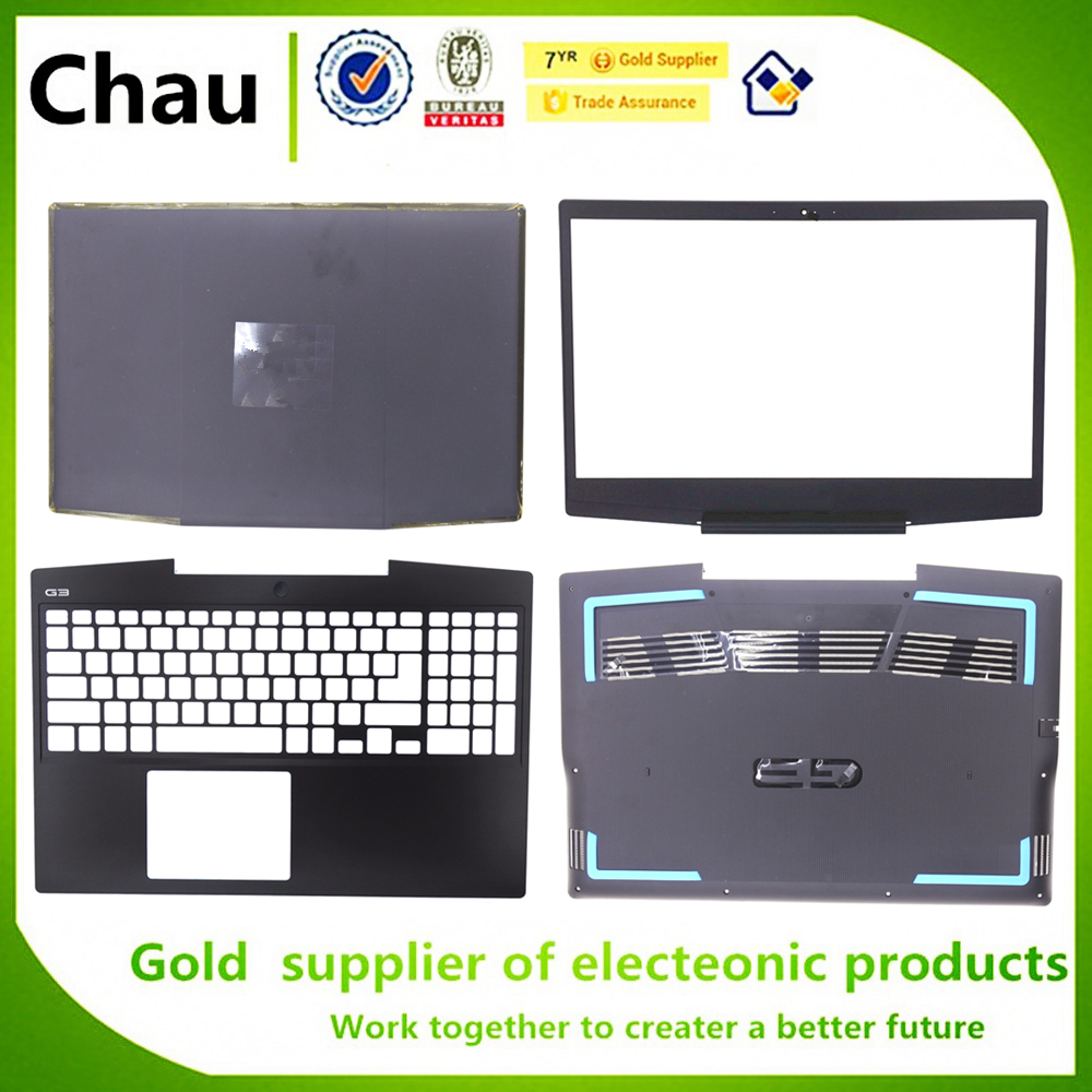 New For Dell G Series G3 15 3590 LCD Back Cover/Front Bezel/Upper Case Palmrest/Bottom Base Base Lower Cover 0G4V93