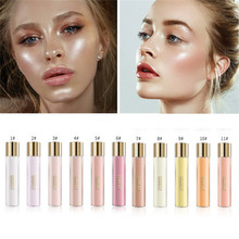 цена на QIBEST Sexy Highlighter Powder Makeup Waterproof Brighten Face Eyes Iluminador Bronzer Powder Make Up Cosmetics Dropshipping New
