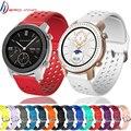Мягкий силиконовый ремешок для наручных часов Xiaomi Huami Amazfit GTR 42 мм Смарт-часы носимые наручные браслет Amazfit GTS bip Youth ремешок