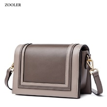 ZOOLER genuine leather shoulder bag luxury handbags women bags designer Small bag fashion ladies bags high quality female YJ208 цена в Москве и Питере