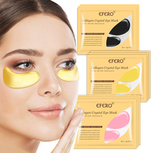 EFERO Collagen Eye Mask Gel Sleep Patches Under the Eyes Care Anti Wrinkle Puffiness Circles Dark Removal Moisturizer Face Mask