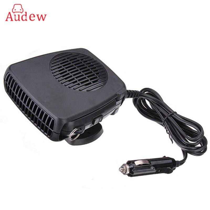 Calefactor para auto portatil 12 V calentador de coches 150 w para invierno