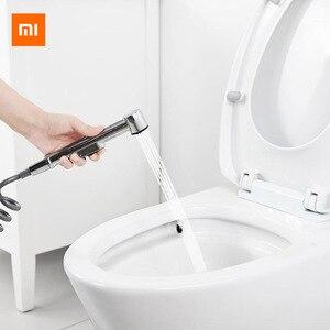 Xiaomi Youpin Higiênico Aço Hand Held Bidé Pulverizador Torneira Conjunto Pulverizador Bidé Arma Higiênico Pulverizador para Acessórios Do Banheiro|Controle remoto inteligente| |  -