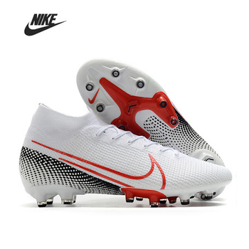 Original High Ankle Nike Superfly 7 Elite SE AG Outdoor Men Boys Soccer Shoes Football Boots Cleats Training Sport Sneakers