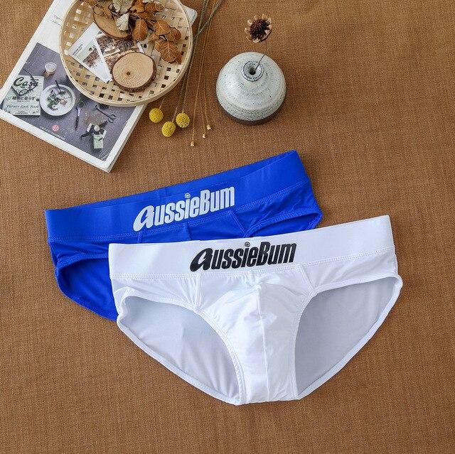 Men's briefs milk silk low waist elastic bag close-fitting comfort aussiebum 2