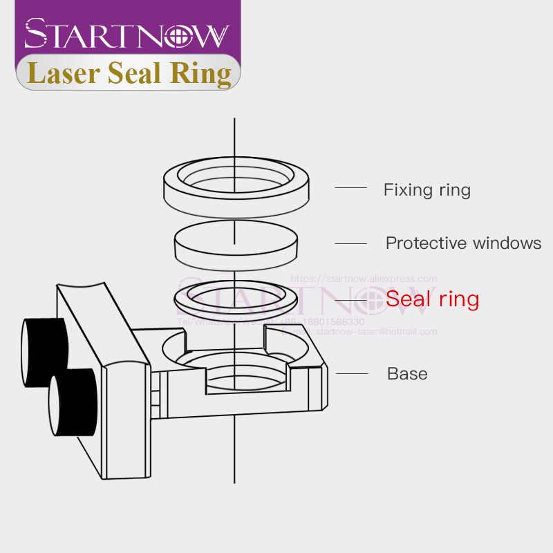 Laser Seal Ring O-Ring Ring Voor Beschermende Windows Lens Op Bodor Raytools Ag Fiber Laser Hoofd 1064nm BT240 BT230 11021M211000