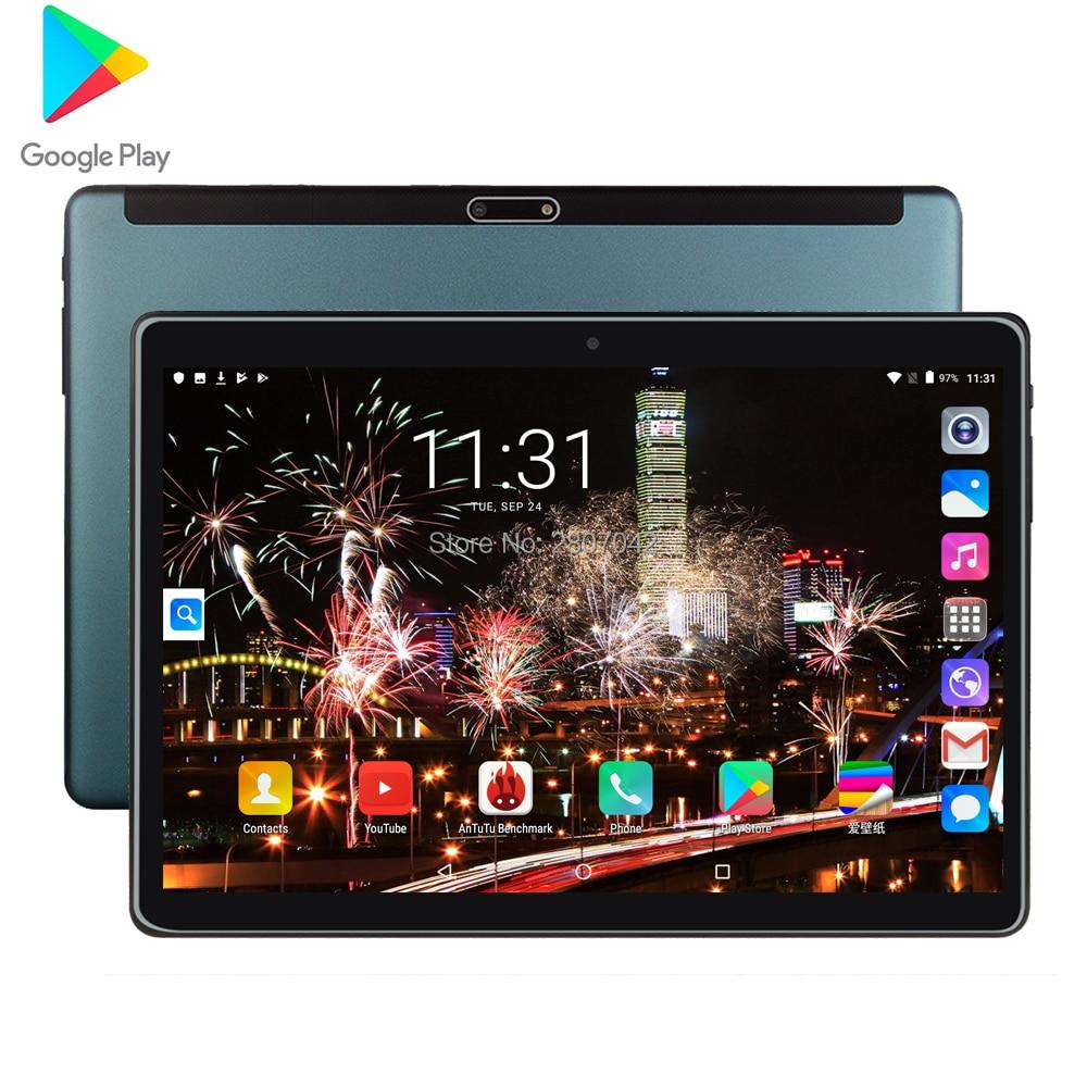 Free Shipping Android 9.0 Tablet PC Tab Pad 10 Inch IPS Quad Core 2G+32GB ROM Dual SIM Card LTD Phone Call 10.1