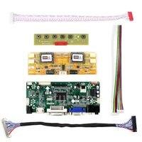 Latumab Neue HDMI + DVI + VGA LCD Lvds Controller Board Inverter Kit für LED M220Z1-L01 1680X1050 Freies verschiffen