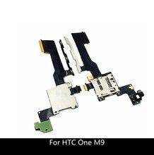 Thay Thế Chi Tiết Sửa Chữa Điện Tắt Tập Nút Bấm Cáp Mềm Với Đầu Đọc Thẻ SD Cho HTC One M9