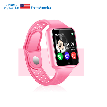 цены US Captain HF Kids Smart Watch IP67 Waterproof LBS/GPS Tracker Anti Lost Internet SOS WiFi Watch Touchscreen Watch for Children