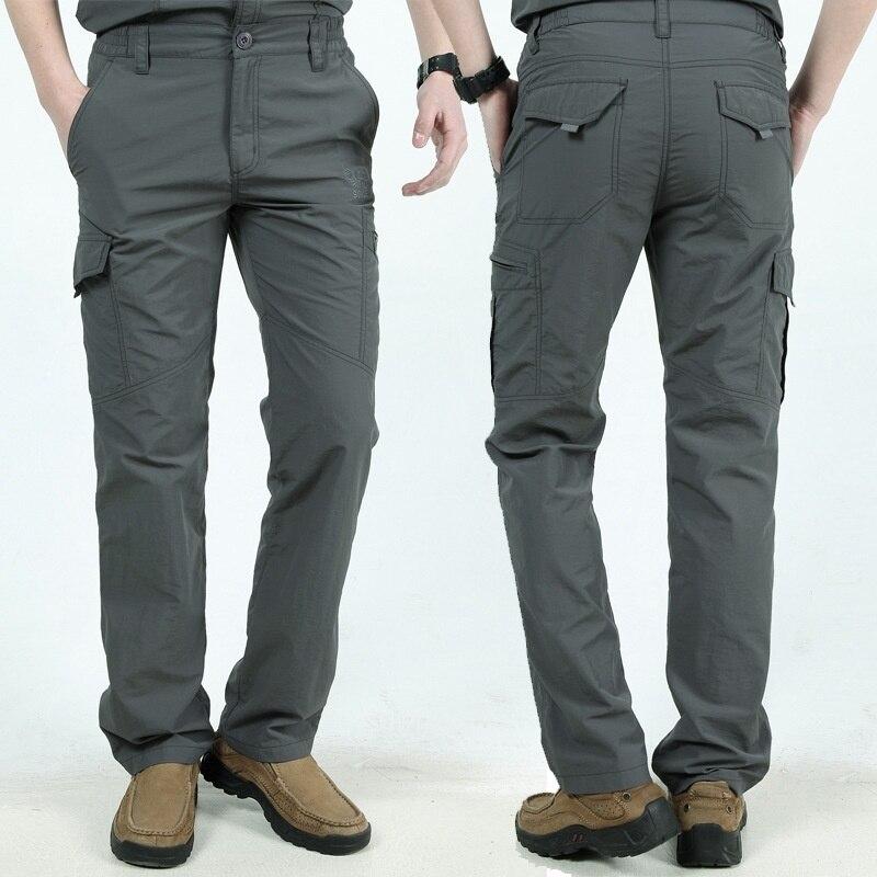 Calças Dos Homens Do Exército Militar Carga