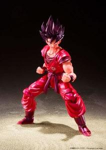 "Image 2 - ""Dragon Ball Z"" 100% Originele Bandai Tamashii Naties S.H. Figuarts/Shf Action Figure Zoon Gokou Kaio Ken"