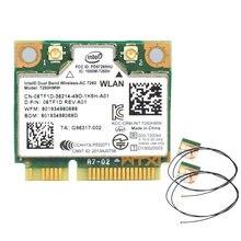 802.11ac для Intel 7260 7260HMW wifi + BT Bluetooth 4,0 адаптер mini PCI-E 867 Мбит/с 7260AC 7265HMW 8265HMW Wi-Fi Wlan карта