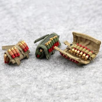 1/6 Scale Combat Bullet Bag Shotgun Belt Smoke Cartridge Bags 3 Styles Model for 12 2