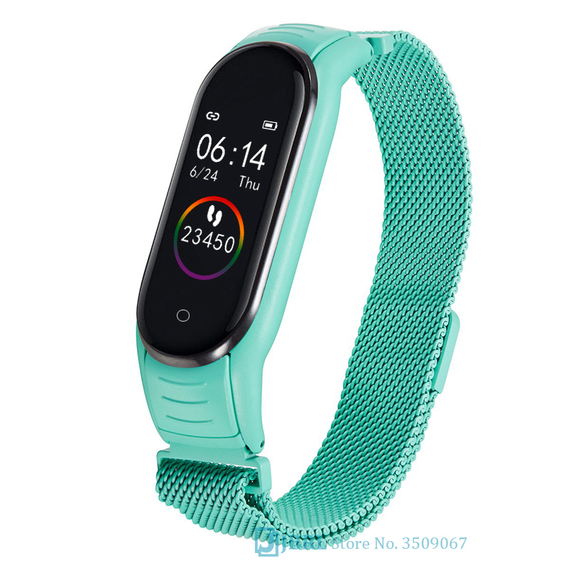 Magnetic Clasp Kids Digital Watch Children Led Watch Phone Android IOS Fitness Bracelet Girls Boys Lelectronic Wristwatch Baby