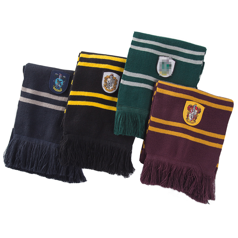 Scarf Costumes Gift Potter Harri Cosplay Christmas Halloween Hufflepuff/ravenclaw Children