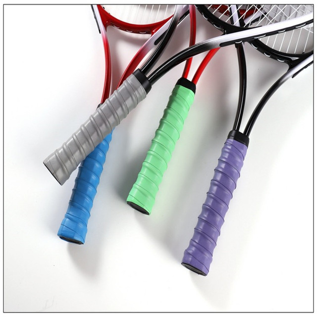 Non-slip Tennis Racket PU Tennis Overgrip Sweat-absorbent Belt Badminton Grip Sports Sweat-absorbent Tennis Accessories 5