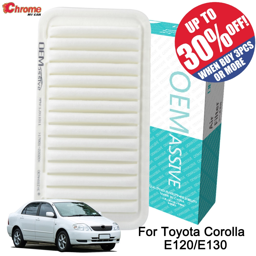 Air Filter For Toyota Corolla E120 E130 2001 2002 2003 2004 2005 2006 2007 1.4L 1.6L 1.8L 17801 22020 17801 YZZ03 Accessories-in Air Filters from Automobiles & Motorcycles