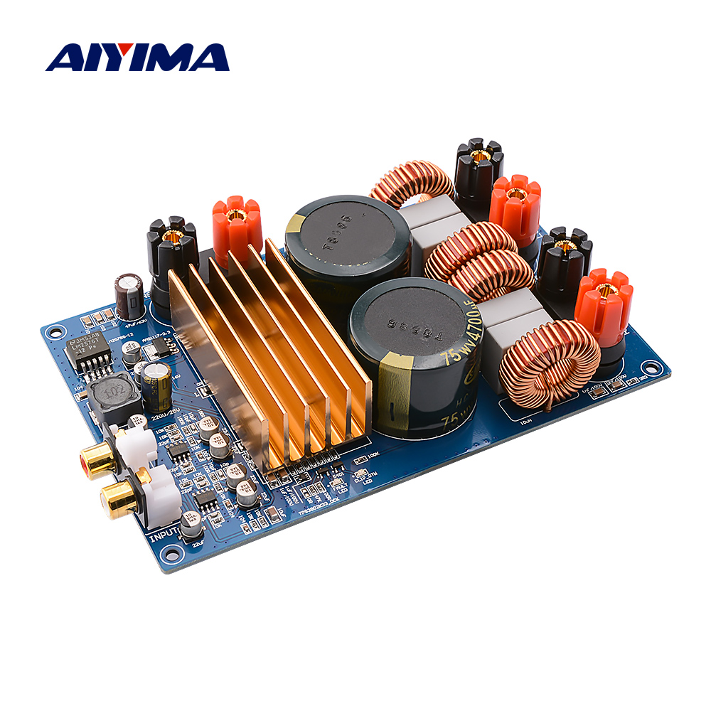 AIYIMA TPA3255 300Wx2 Class D Digital Amplifier Audio Board HIFI Stereo Power Sound Amplifier DC40V Home Theater Mini Amp