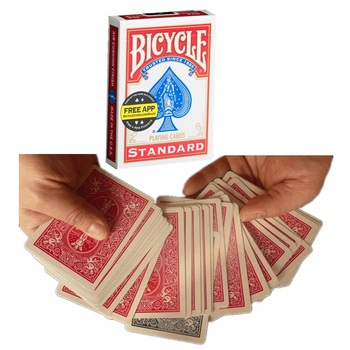 The Brainwave Deck Invisible Deck Original Bicycle Playing Cards Magic Card Tricks Mentalism Comedy Close Up Magic Tricks Props tally ho playing cards magic deck magic tricks cardistry deck