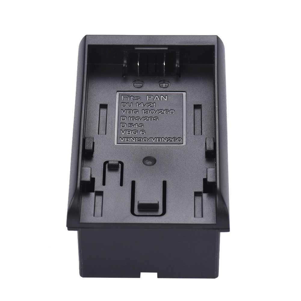 8pcs AA Battery Pack Cassa Del Supporto Sostituire F950/F750/F550 NP-F Serie per LED Video Luce di Pannello /Monitor/DSLR Della Macchina Fotografica