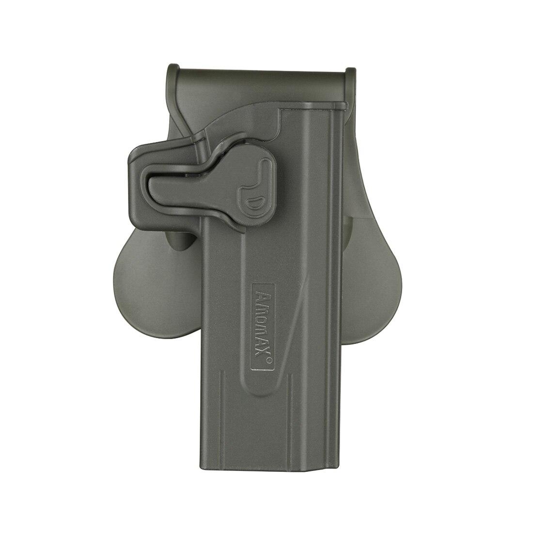 Amomax Adjustable Tactical Holster For STI Hi-capa 2011 Series Blaster/Tokyo Marui/WE/KWA/KJW/NOVRITSCH/SRC BABA YAGA-Right-hand