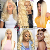 Honey Blonde 613 Straight Hair Bundles Weave Ombre (Brazilian) 3