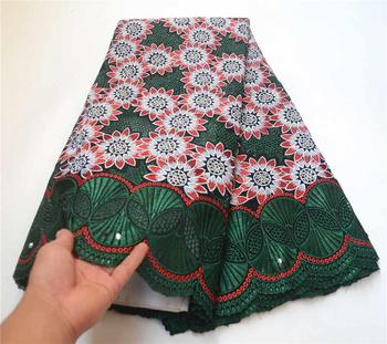 Hot Selling 100% Cotton African Swiss voile lace fabric Nigerian Lace Fabric High Quality Swiss Voile In Switzerland PSA866-1