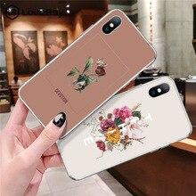купить Lovebay Soft Ultrathin Painted Phone Cases For iphone 5 5S SE 6 6S 7 8 Plus XS Max XR X Floral Fashion Pattern Back Case Cover по цене 76.85 рублей