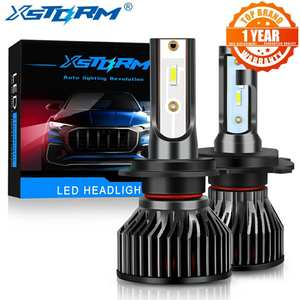 Xstorm Mini H4 H7 LED Bulb Car Headlight lampada H1 H3 H8 H11 Led 9005 HB3 9006 HB4 12000LM 6000K White Auto Fog Lights Headlamp