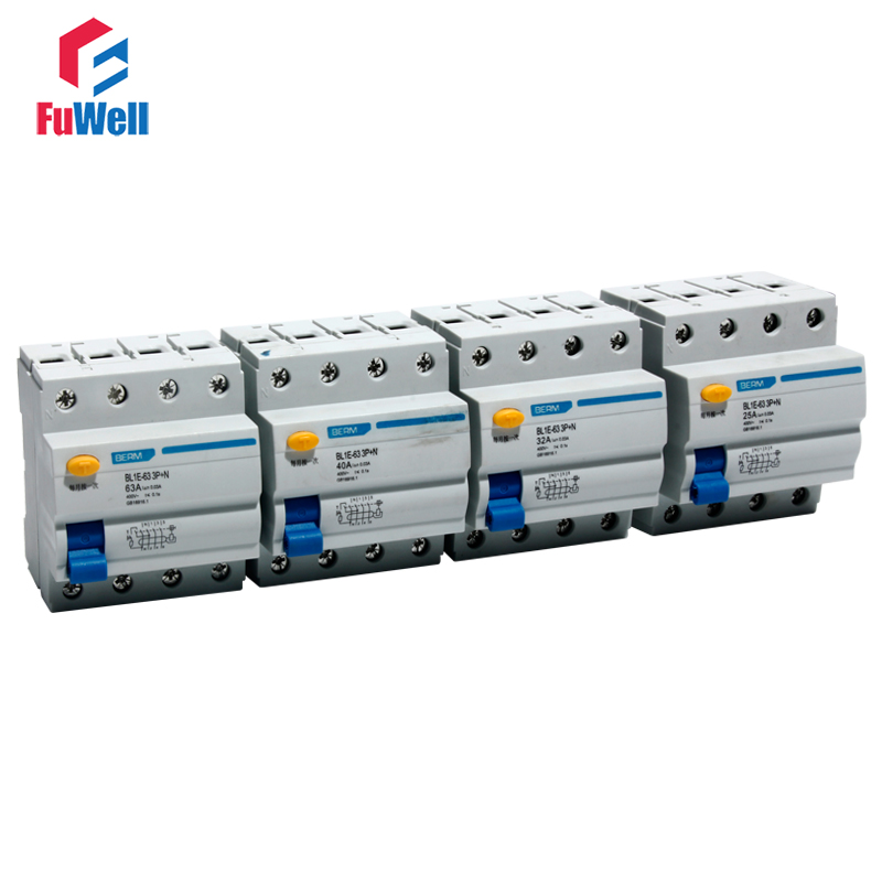 Leakage Current Circuit Breaker BL1E-63 3P+N 63A Leakage Protection