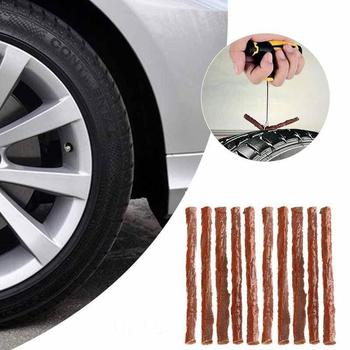 5/50Pcs Car Fast Rubber Tire Repair Strip Auto Motorcycle Tire Kit Strip Tubeless Wheels Rubber Repair Tape Puncture L0W1 image