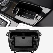 Auto Aschenbecher Schwarz Kunststoff Center Konsole Aschenbecher Montage Box Passt für BMW 5 Series F10 F11 F18 520 51169206347