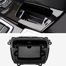 자동 재떨이 검정색 플라스틱 센터 콘솔 재떨이 어셈블리 상자 BMW 5 시리즈 F10 F11 F18 520 51169206347